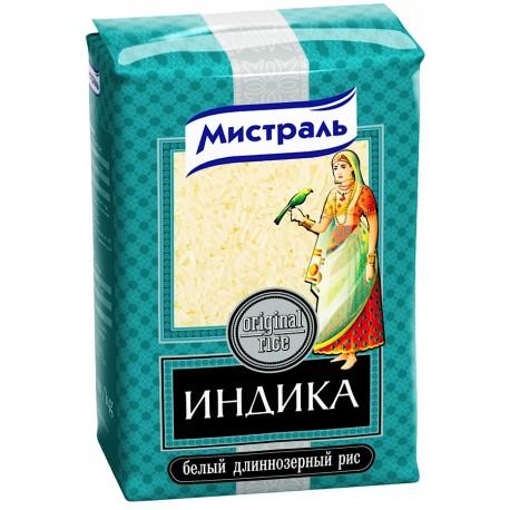 Рис Мистраль Индика 1кг.-12 (шт.)