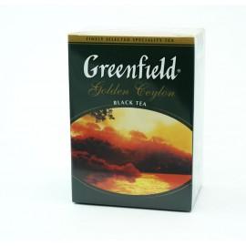 Чай Черный Гринфилд Golden Ceylon 100гр. Лист