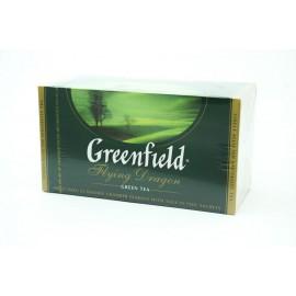Чай Зеленый Гринфилд Flying Dragon 25 пакетов
