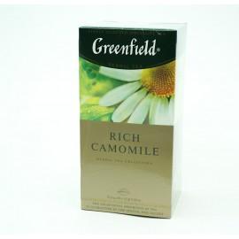 Чай Гринфилд Rich Camomile 25 пакетов