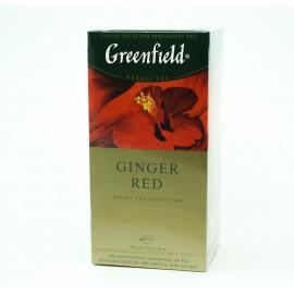 Чай Гринфилд Ginger Red 25 пакетов