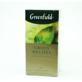 Чай Гринфилд Green Melissa 25 пакетов