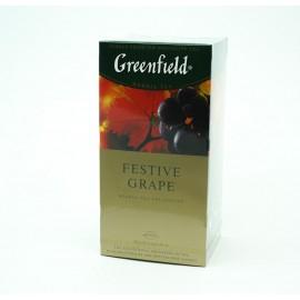 Чай Гринфилд Festive Grape 25 пакетов