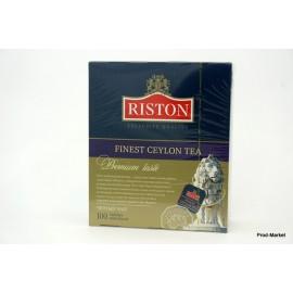 Чай Черный Ристон Файнест 100 пакетов