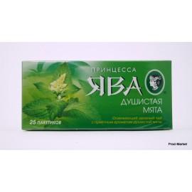 Чай зеленый Принцесса Ява Мята 25 пакетов