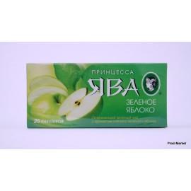 Чай зеленый Принцесса Ява Яблоко 25 пакетов