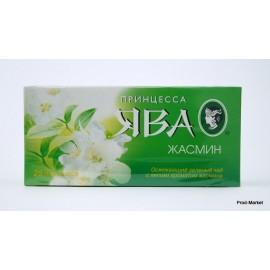 Чай зеленый Принцесса Ява. Жасмин 25 пакетов