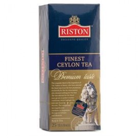 Чай Черный Ристон Файнест 25 пакетов