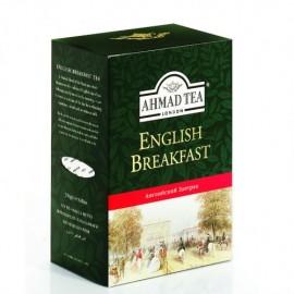 Чай черный АХМАД Английский завтрак 200гр. Лист с СТС