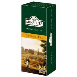 Чай черный  АХМАД Цейлонский 25 пакетов