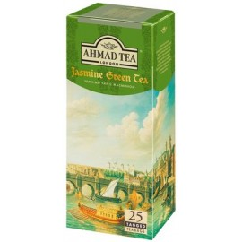 Чай АХМАД Зеленый с Жасмином 25 пакетов