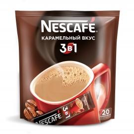 Нескафе 3 в 1 , Карамельный, Кофе растворимый