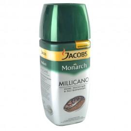 Якобс Милликано Кофе молотый с растворимым 190 гр