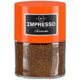 Импрессио Ристретто  Кофе молотый с растворимым 100гр.
