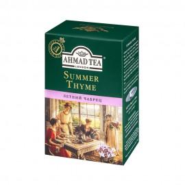 Чай черный  АХМАД  с чебрецом 90гр. Лист