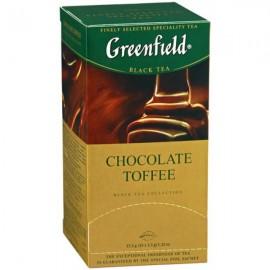 Чай Гринфилд Chocolate Toffe 25 пакетов