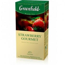 Чай Гринфилд Strawberry Gourmet 25 пакетов