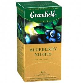 Чай Гринфилд Blueberry Nights 25 пакетов
