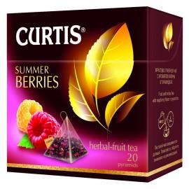 Чай Кертис Пирамидки.Summer Berries. 20 сашетов