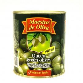 Оливки Маэстро гигантские без кости 3,1кг-3 (шт.)