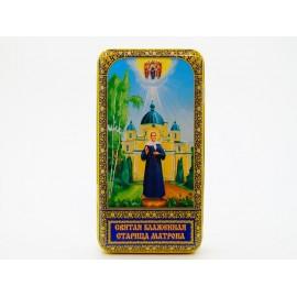 Чай чёрный БЛАГОВЕСТ Старица Матрона 60гр. Ж/Б