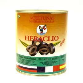 Маслины Хераклио резанные 3,1кг-6 (шт.)