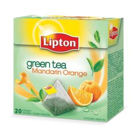 Чай зелёный  Липтон Mandarin Orange  20 пирамидок