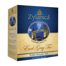 Чай чёрный ЗИЛАНИКА  Эрл Грей 100 пакетиков
