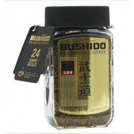 Кофе BUSHIDO KATANA GOLD 24 KARAT, 100г, растворимый сублимированнный