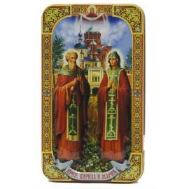 """Чёрный чай """"Преподобные Кирилл и Мария"""", 100г"""