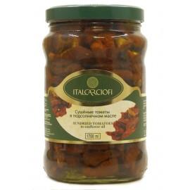 """Сушёные томаты в подсолнечном масле """"Italcarciofi"""", 1,7л"""