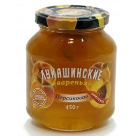 Варенье Лукашинские персиковое, 450г