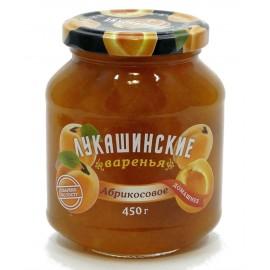 Варенье Лукашинские абрикосовое, 450г