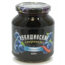 Варенье Лукашинские черничное, 450г