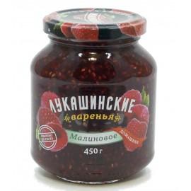 Варенье Лукашинские малиновое, 450г