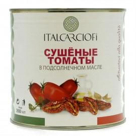 Томаты сушёные в подсолнечном масле ITALCARCIOFI, 2650 мл