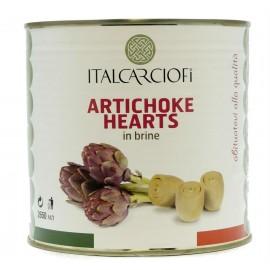 Артишоки в собственном соку ITALCARCIOFI, 2.6кг