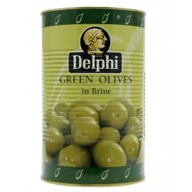Оливки с косточкой в рассоле ДЕЛФИ, 4250г