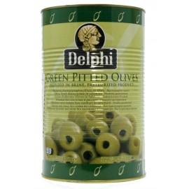 Оливки без косточки в рассоле ДЕЛФИ, 4250г