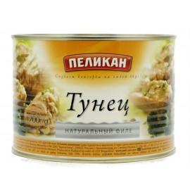 Тунец ПЕЛИКАН натуральный филе, 1700г