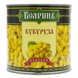 Кукуруза сладкая БОЯРИН, 2650 мл