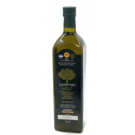 Оливковое масло Extra Virgin ЛАТЗИМАС Голд, 1л