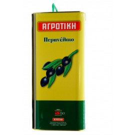 асло оливковое рафинированное АГРОТИКИ , 5 литров , Ж/Б