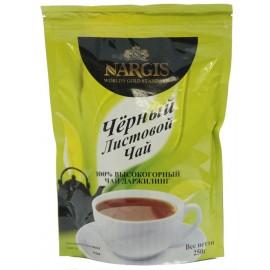 """Чай НАРГИС """"Дарджилинг"""" листовой, 250 гр,  дой-пак"""