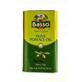 Масло оливковое Бассо рафинированное 3л-4 (шт.)  Ж/Б
