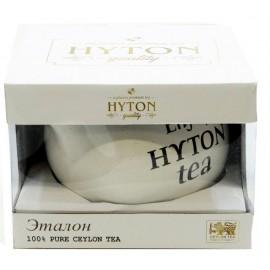 """Черный чай ХАЙТОН в керамическом чайнике """"Эталон"""", 80 г"""