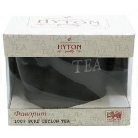 """Черный чай ХАЙТОН в керамическом чайнике """"Фаворит"""", 80 г"""