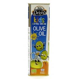 Масло оливковое Extra Virgin БИО KIDS ДЕЛФИ, 0,5 л