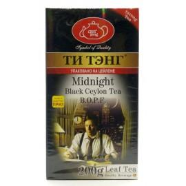 """Черный чай ТИ ТЭНГ """"Midnight"""", 200г"""