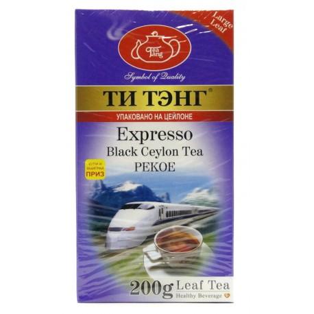 """Черный чай ТИ ТЭНГ """"Экспрессо"""", 200 г"""
